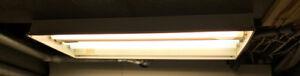 Fluorescent light fixtures