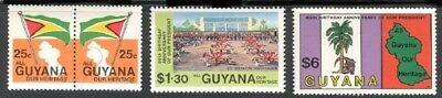 GUYANA SC# 608-610 MNH