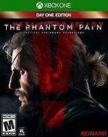 Metal gear solid V 5 Xbox one games