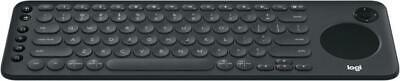 Logitech K600 TV Keyboard Integrated Touchpad and D-Pad Compatible with Smart TV