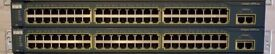 2x CISCO Layer 2 switches Catalyst WS-C2950T-48-SI