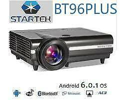 WAW !  NEW super power smart projector 3D 4k  6000lumens bluetooth WiFi / 6 mois de garantie / projecteur home theater