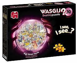 JIGSAW PUZZLE WASGIJ HIGH STREET HASSLE 1000 PIECE BRAND NEW SEALED  DESTINY