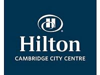 Food and Beverage Assistant for Executive Lounge - Hilton Cambridge City Centre