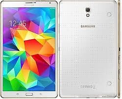 Samsung Galaxy Tab S 8.4WIFI and 4G on EE NetworkComplete with Genuine Samsung Flip Casein Allerton, West YorkshireGumtree - Samsung Galaxy Tab S 8.4 ( 8.4 inch Tablet) WIFI and 4G on EE Network Mint condition with Box Hardly used. Includes a Genuine Samsung Flip case. Can make and recieve Calls and Texts with a SIM Card. These tablets have a fantastic Screen with fast...