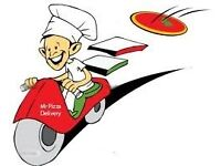 Pizzeria staff wanted driver/ kitchen staff full time