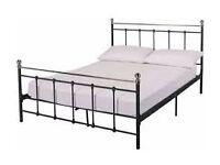 Eversholt Kingsize Bed Frame - Black