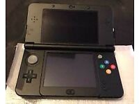 New Nintendo 3ds black with one game