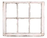 I'm looking for a 6 panel old wooden window