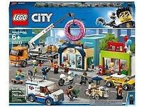 LEGO City 60233 Town Donut Shop Grand Opening Set NEW in Sealed Box courier