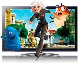 Samsung 50 inch plasma HDTV.