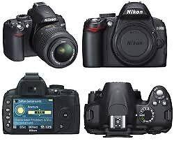 Nikon D3000 DSLR with 18-55 VR zoom