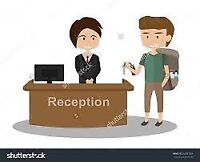 WANTED RECEPTIONISTS!
