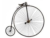 WANTED - PENNY FARTHING BICYCLE