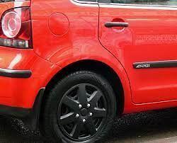 "Black 14"" Wheel Covers Brand NEW"