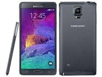 Samsung Note 4 Unlocked Boxed Grade A in Black with Warranty!