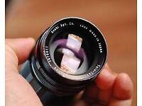 Tele Takumar 200mm F5.6 - Vintage Lens - M42 Mount fits canon, panasonic sony nikon carl zeiss