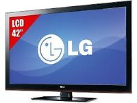 lg 42lk450 full hd . free view build in. fully working order