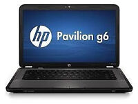 PROFESSIONALLY REFURBISHED QUAD CORE HP PAVILION G6 8GB RAM 750 HDD HD GRAPHICS 12 MTH WARRANTY