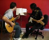 Guitar lessons in your home or mine - only $25 for a full hour!!