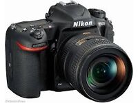 Nikon d500 Camera with recep mint under 3 weeks with battery grip not nikon