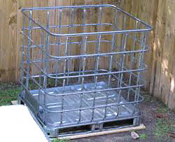 empty crates great for fire wood