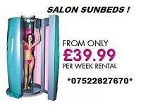 sunbed hire commercial units