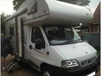 2007 HYMER CLASSIC 514 CENTRE DINETTE 4 BERTH MOTORHOME FOR SALE