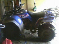 2 atv for sale and 2 sleds and skidoo trailer
