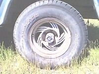 2 Tires and rims forsale