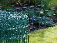 Garden border fence 25cm x 10m