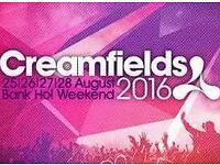 2016 cream fields 4 day gold