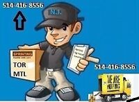 Moving and courier services on weekends