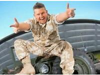 Tickets - Gary Tank Commander
