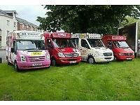 Ice cream vans for hire/ events