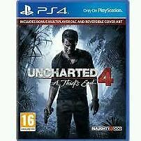 Uncharted 4 ps4 (still sealed)