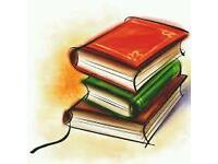Tutoring for transfer test, GCSE English and English Lit, English A Level, Primary English, Reading
