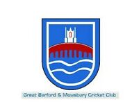 Great Barford and Mowsbury CC - Player needed
