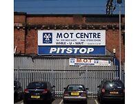 garage workshop north west london