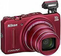 NIKON COOLPIX S9700 - LIKE NEW WITH BOX
