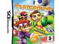 Nintendo DS Game - EA Playground includes Dodgeball - New & Sealed + Free DS Game