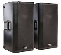 QSC POWERED SPEAKERS USED AND NEW
