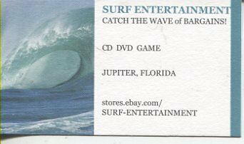 SURF HOLIDAY CD