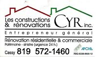 menuisier en rénovation