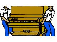 Piano movers and cheap house removals.