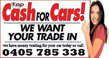 Wanted: TOP CASH FOR ALL CARS