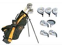 Set of Cobra Speed Golf Clubs including Golf Bag
