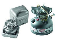 COLEMAN UNLEADED SPORTSTER CAMPING STOVE WITH CARRY CASE 533 700E
