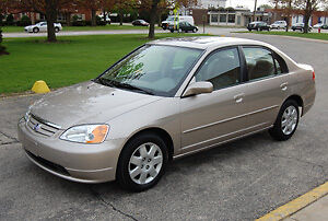 2002 Honda Civic Beige