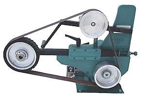 Bader belt grinder, knifemaking